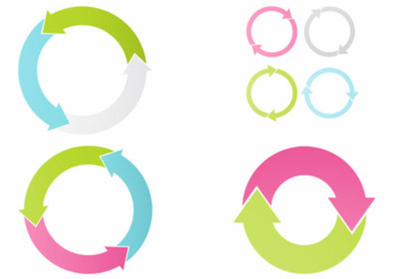 Cycle arrow clipart coreldraw. Free vector art downloads