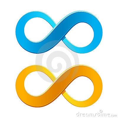 Infinity stock illustrations vectors. Cycle arrow clipart coreldraw
