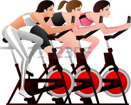 Cycle class clip art banner download 87 Spinning Class Stock Vector Illustration And Royalty Free ... banner download