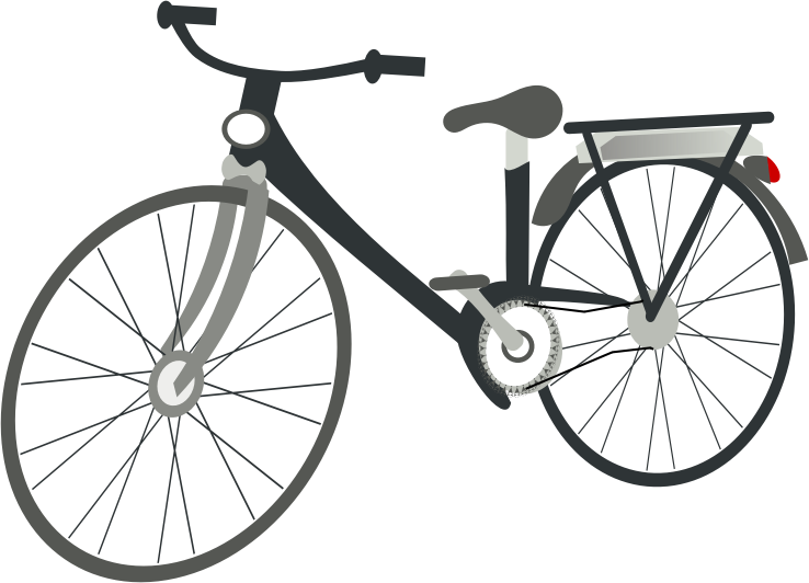 Cycle clipart graphic black and white stock Free Bicycle Clip Art Pictures - Clipartix graphic black and white stock