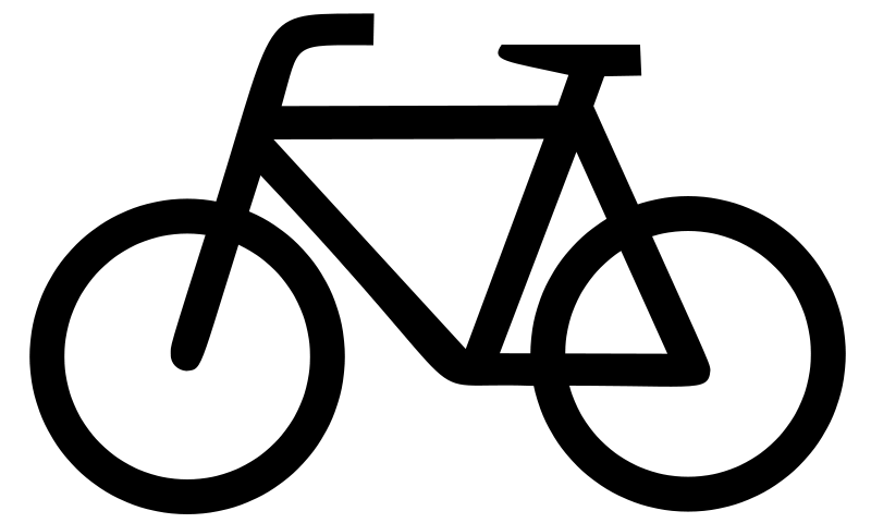 Cycle clipart png jpg download Bicycle Sign Clipart - Clipart Kid jpg download