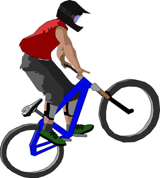 Cycle clipart png library Bike Clip Art at Clker.com - vector clip art online, royalty free ... library