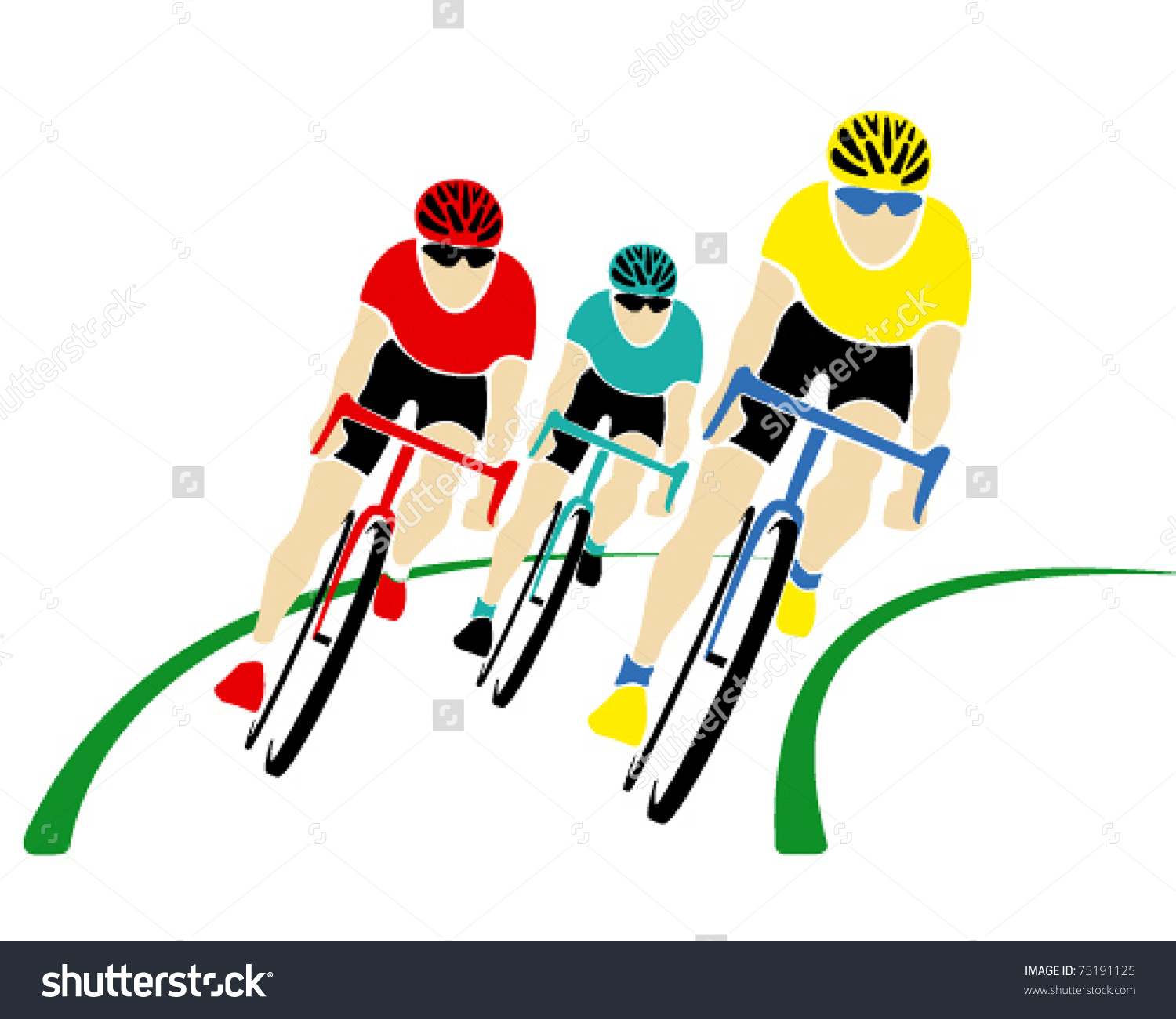 Cycle race clipart png black and white library Cycle race clipart - ClipartFest png black and white library