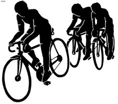 Cycle race clipart free stock Bike race clipart - ClipartFest free stock