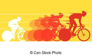 Cycle race clipart png black and white Bicycle race Illustrations and Stock Art. 11,103 Bicycle race ... png black and white