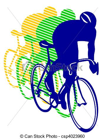 Cycle race clipart freeuse library Bicycle race Illustrations and Stock Art. 11,103 Bicycle race ... freeuse library