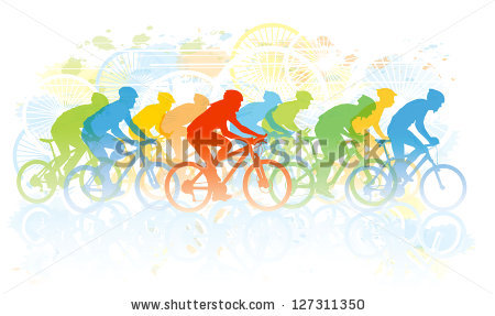 Cycle race clipart free library Bike Race Stock Photos, Royalty-Free Images & Vectors - Shutterstock free library