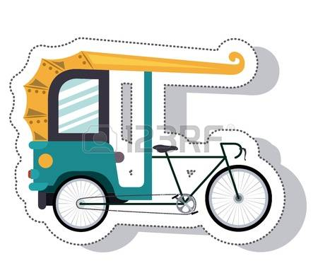 Cycle rickshaw clipart image freeuse download 165 Cycle Rickshaw Stock Vector Illustration And Royalty Free ... image freeuse download