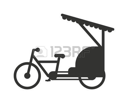 Cycle rickshaw clipart graphic stock 165 Cycle Rickshaw Stock Vector Illustration And Royalty Free ... graphic stock