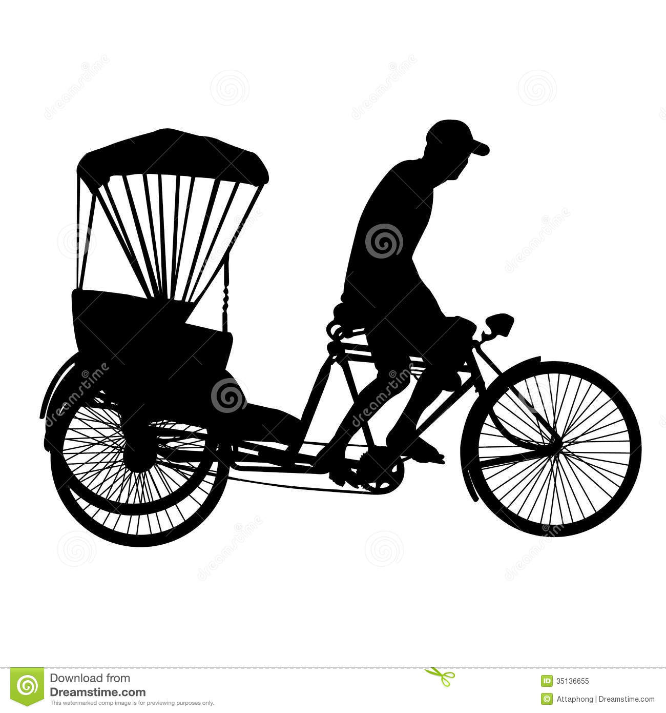 Cycle rickshaw clipart png download Cycle rickshaw clipart - ClipartFest png download