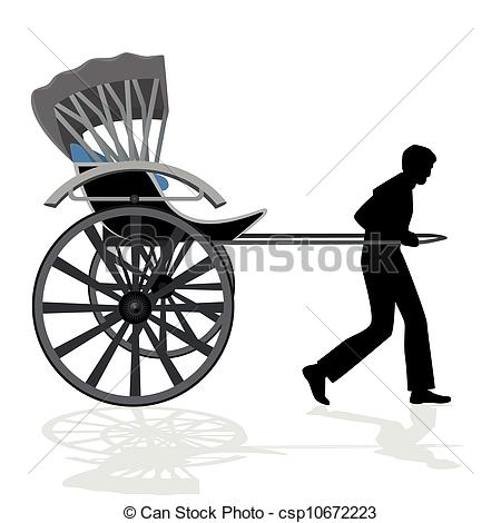 Illustrations and royalty free. Cycle rickshaw clipart