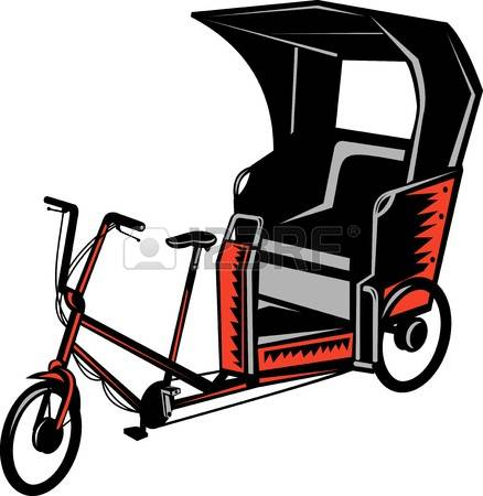 Cycle rickshaw clipart png library download 165 Cycle Rickshaw Stock Vector Illustration And Royalty Free ... png library download