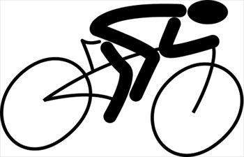 Graphics and photos . Free cycling clipart images