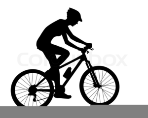 Free cycling clipart images. Cyclist at clker com