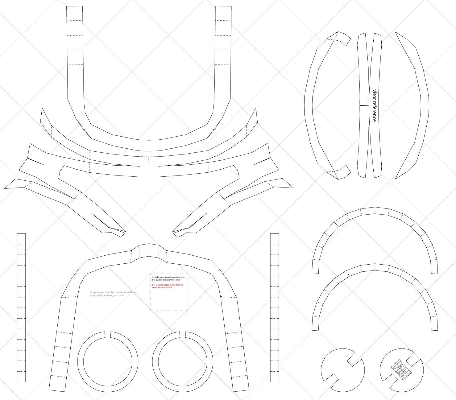 Cyclops visor clipart clipart transparent download Dali-Lomo: How to Make X-MEN Cyclops Visor DIY (free PDF ... clipart transparent download