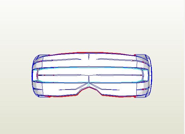 Cyclops visor clipart svg transparent download Dali-Lomo: How to Make X-MEN Cyclops Visor DIY (free PDF ... svg transparent download
