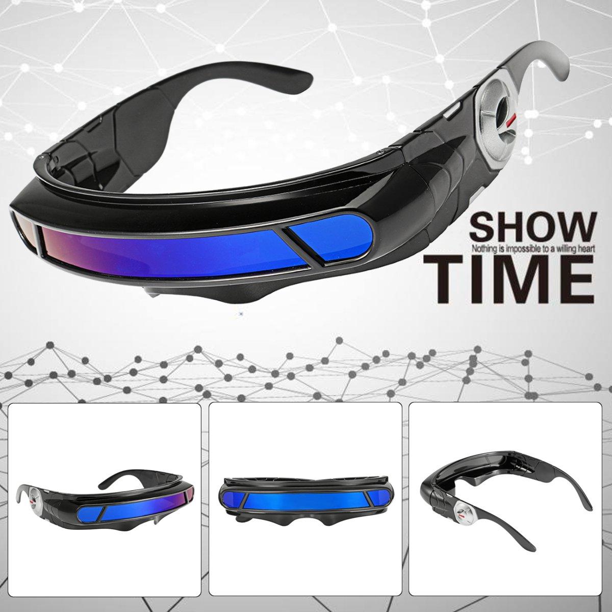 Cyclops visor clipart stock Details about Futuristic Space Alien Costume Party Cyclops Robot Wrap  Shield Sun Glasses Visor stock