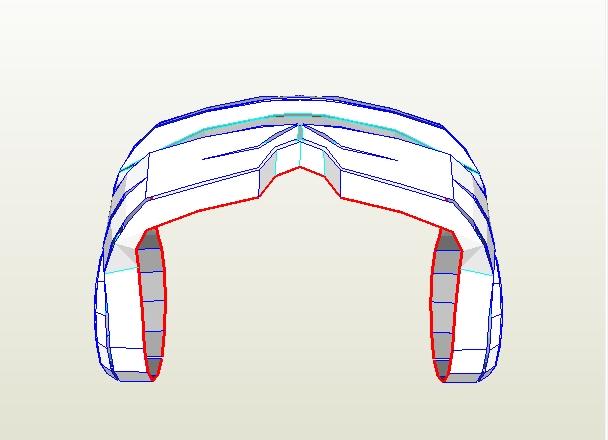 Cyclops visor clipart jpg freeuse stock Dali-Lomo: How to Make X-MEN Cyclops Visor DIY (free PDF ... jpg freeuse stock