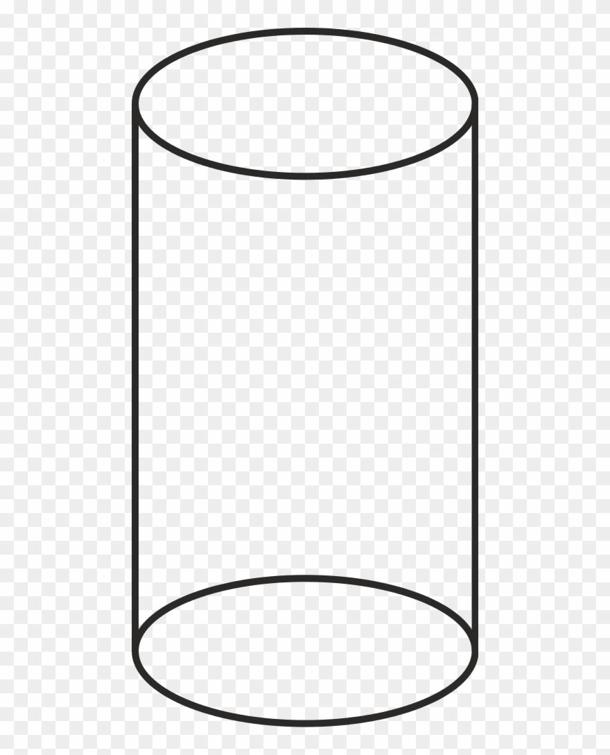 White cylinder clipart image royalty free stock Volume Cilinder Vector - Cylinder Shape Black And White ... image royalty free stock