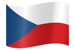 Czechoslovakia clipart clipart free library The Czech Republic flag clipart - country flags clipart free library