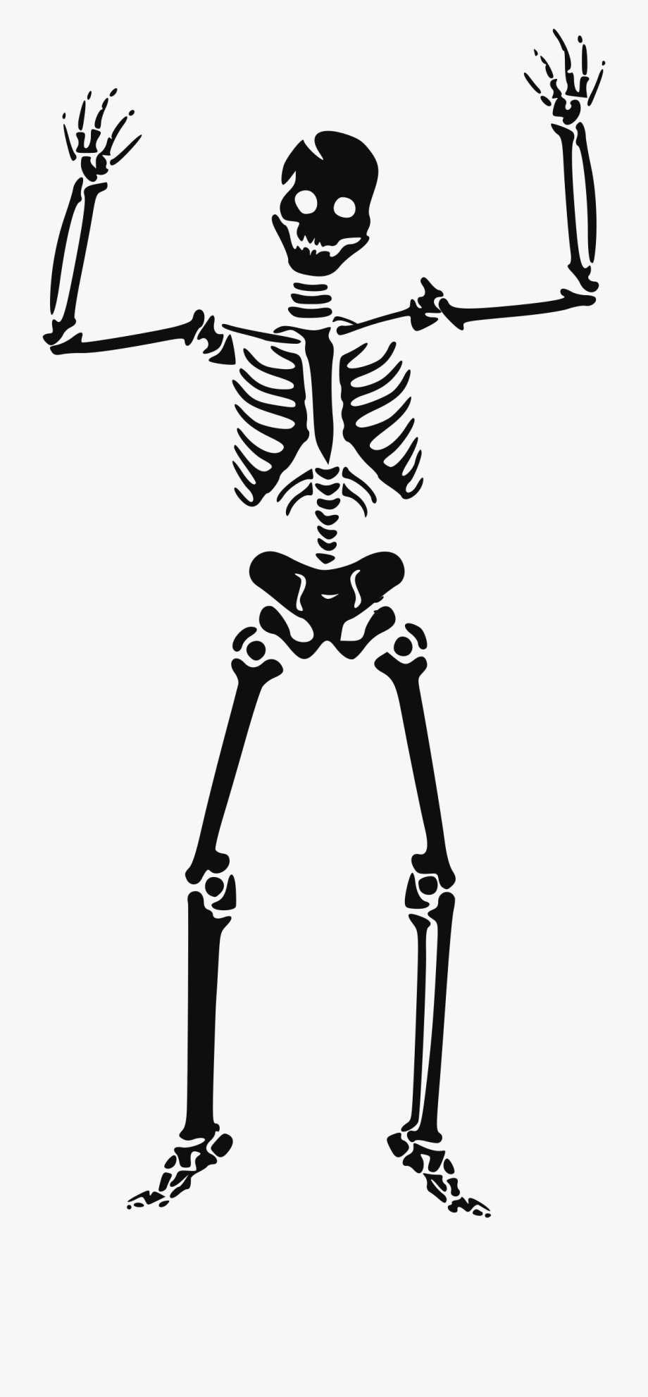 Halloween skeleton pictures clipart
