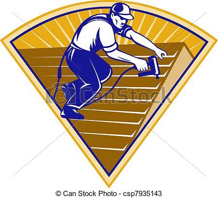 Dachdecker bilder clipart clip art royalty free download Zeichnungen von roofing, Dach, arbeiter, Dachdecker, arbeitende ... clip art royalty free download
