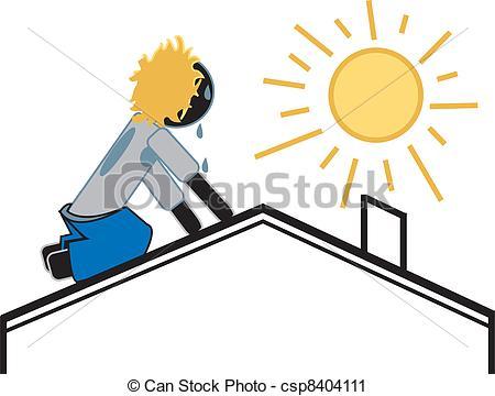 Dachdecker bilder clipart clipart Vektor Clip Art von heiß, Sonnig, Dachdecker, Tag - einfache ... clipart