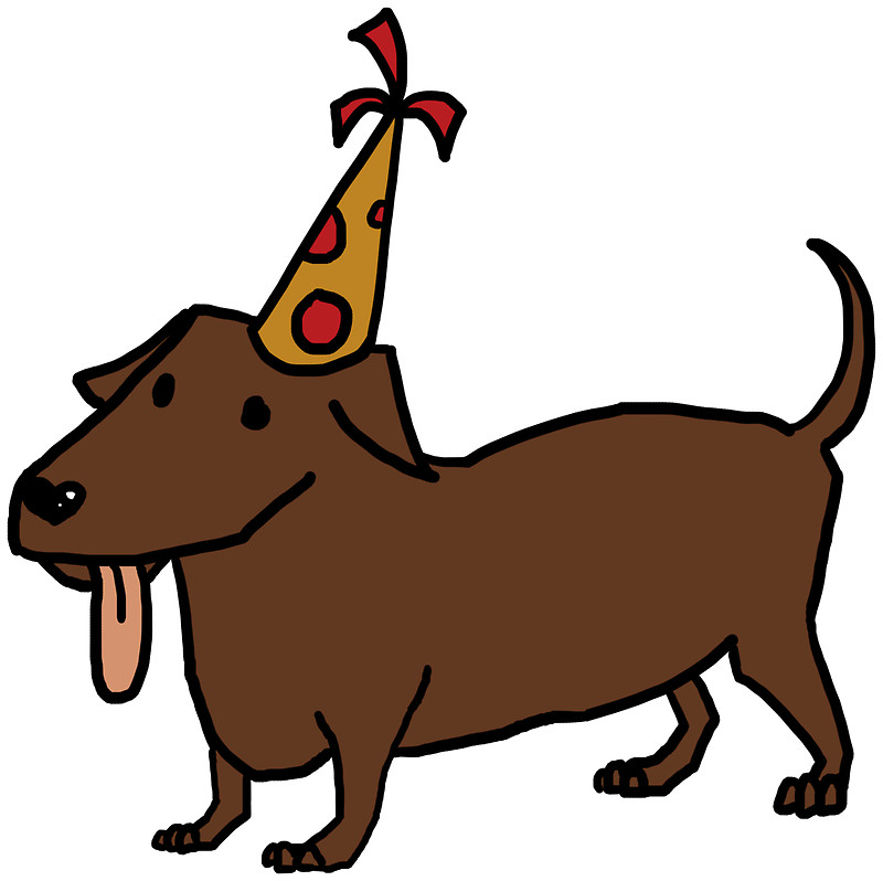 Dachshund birthday clipart picture freeuse library Dachshund Dog Clipart | Free download best Dachshund Dog Clipart on ... picture freeuse library