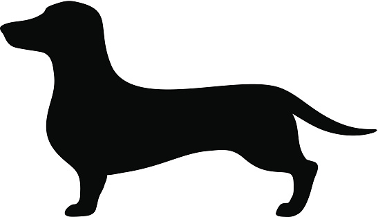 Dachshund silhouette clipart clip art freeuse Dachshund Dog Clipart | Free download best Dachshund Dog Clipart on ... clip art freeuse
