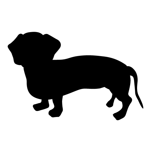 Dachshund silhouette clipart banner freeuse download Dachshund Outline Clipart | Free download best Dachshund Outline ... banner freeuse download