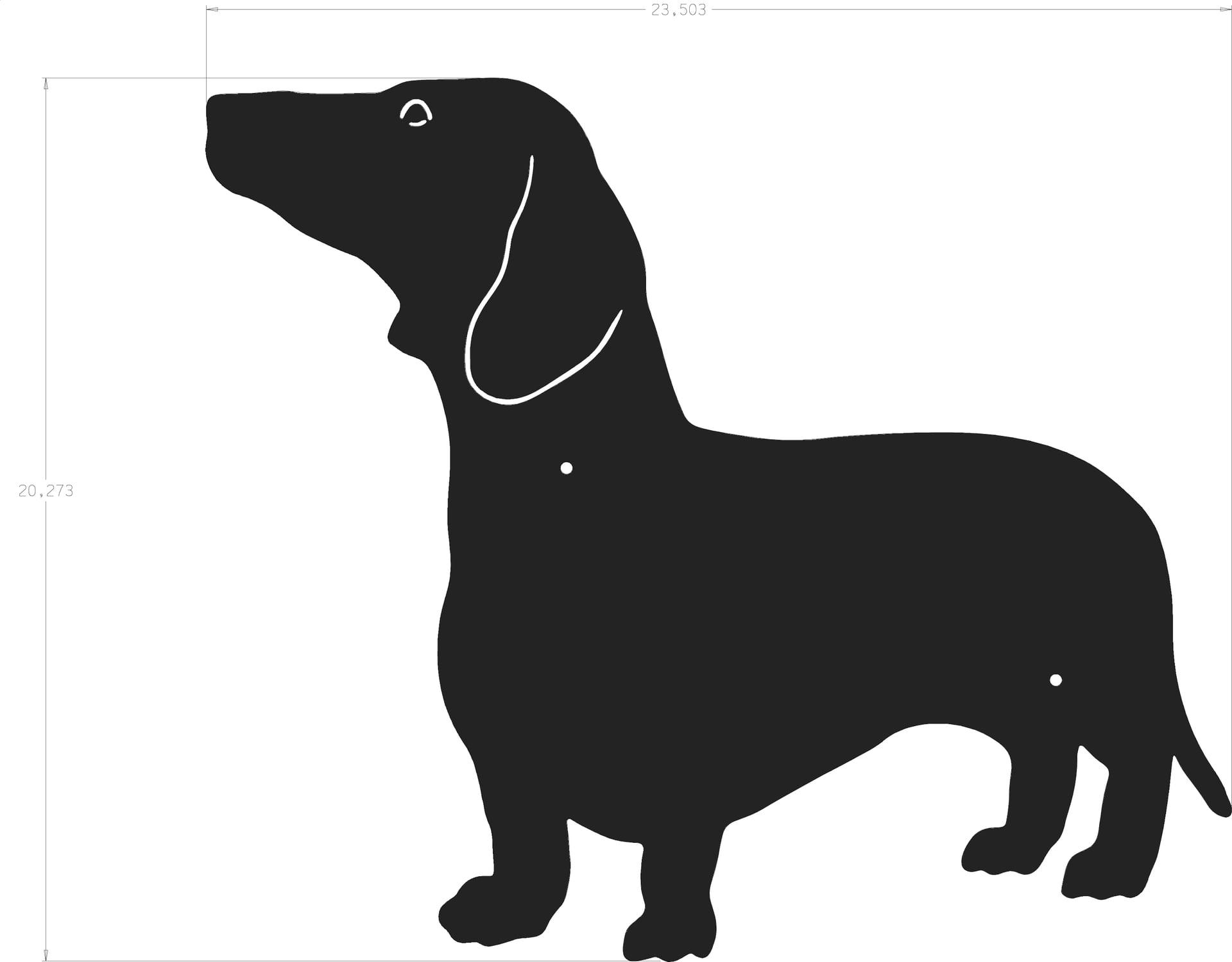 Dachshund silhouette clipart clip free download Silhouette - Dachshund clip free download