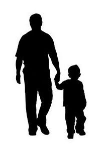 Father son clipart image black and white download Father And Son | Mother\'s & Father\'s Day | Silhouette, Father son ... image black and white download