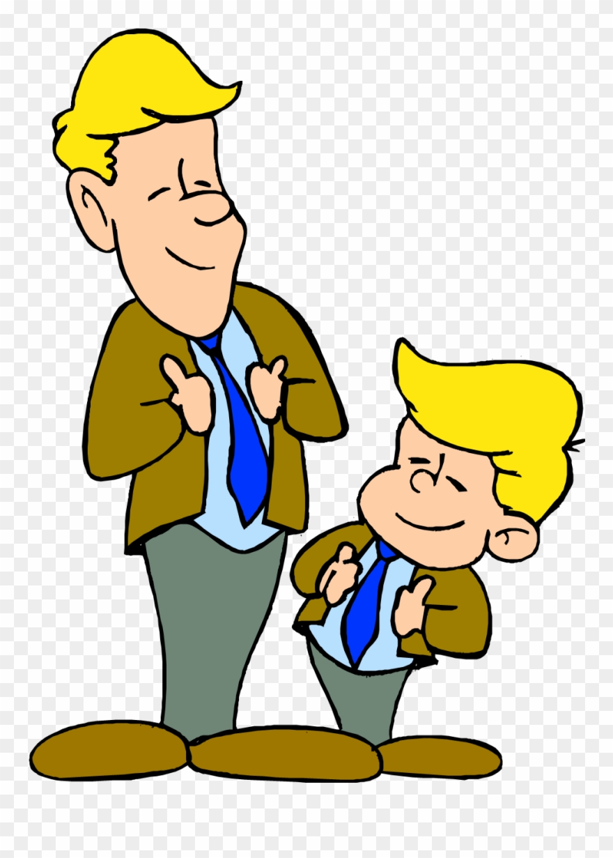 Dad and son clipart jpg royalty free stock Manners Clip Art - Dad And Son Clipart - Png Download (#37755 ... jpg royalty free stock