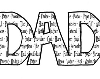 Dad word clipart picture Dad Word Cliparts - Cliparts Zone picture