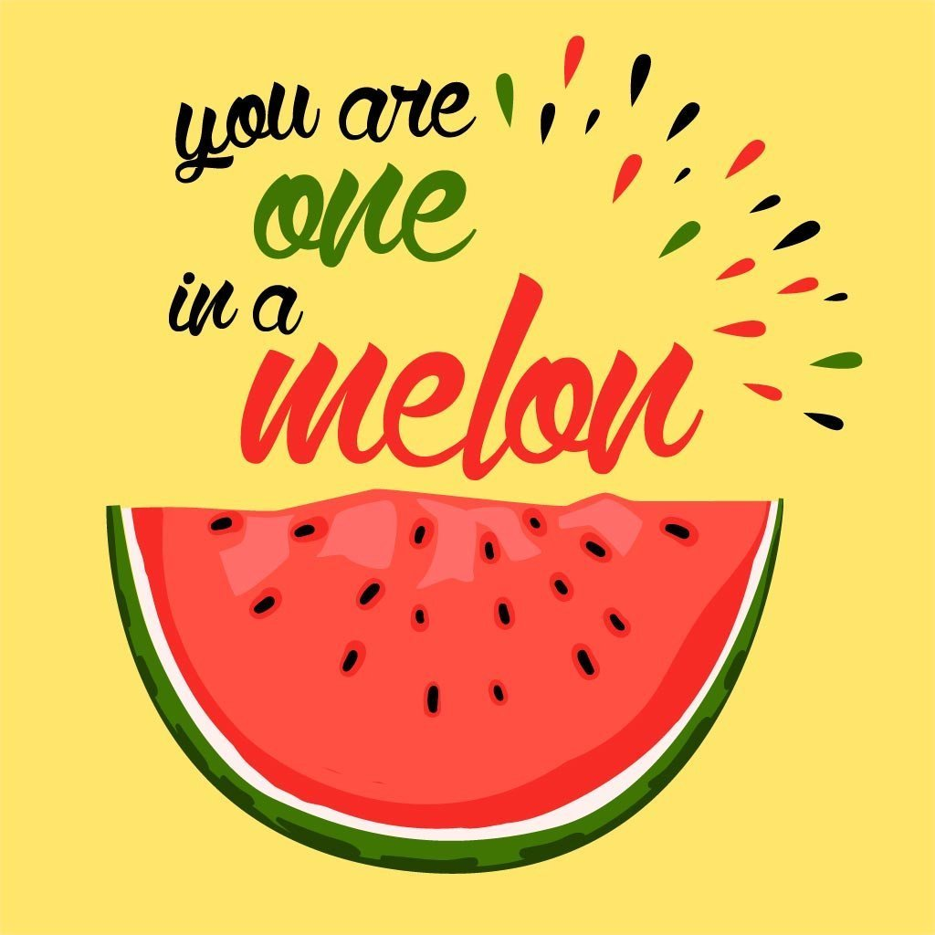 Dad you are one in a melon clipart png free download You Are One In A Melon Dad & Daughter Tees png free download