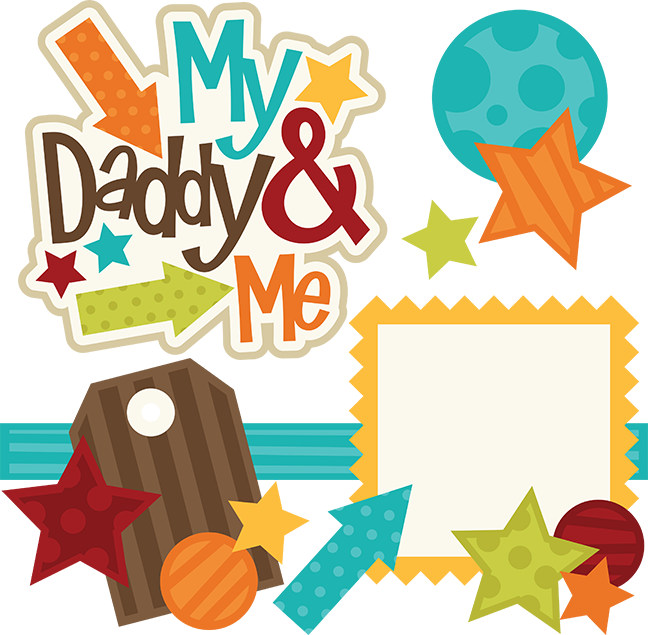 Scrapbook book clipart picture royalty free stock My Daddy & Me SVG files for scrapbooking family svg cut files family ... picture royalty free stock