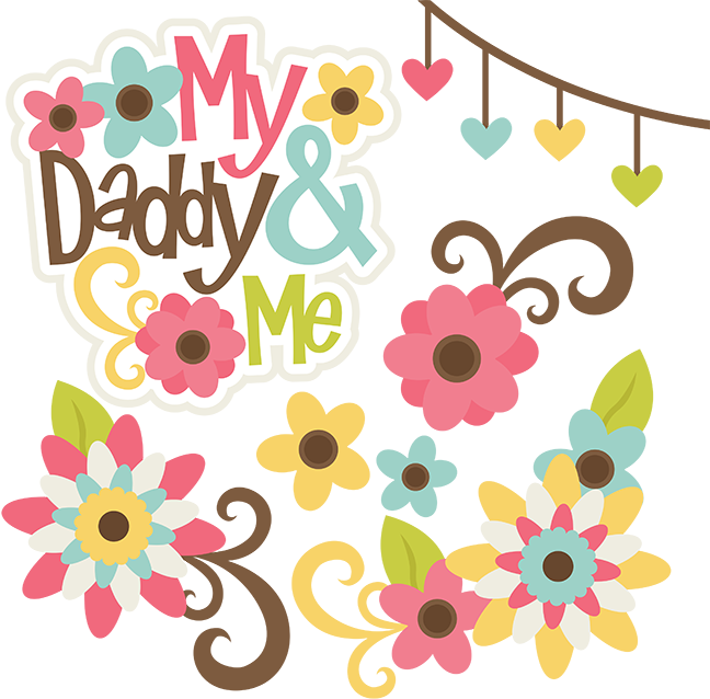 Scrap book clipart image royalty free stock My Daddy & Me SVG files for scrapbooking family svg cut files family ... image royalty free stock