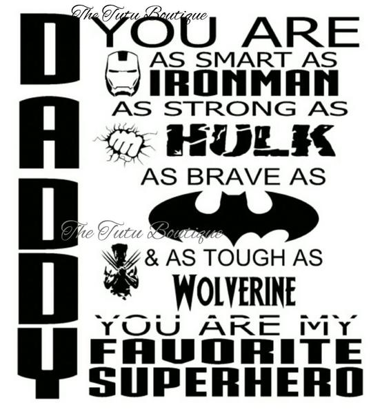 Daddy you are as smart as ironman clipart vector stock Daddy You are Our Favorite Superhero SVG, Father\'s day, Instant Download vector stock