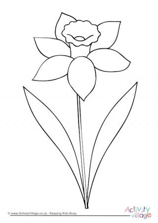 Daffodil clipart black and white jpg transparent library Daffodil clipart black and white 5 » Clipart Station jpg transparent library