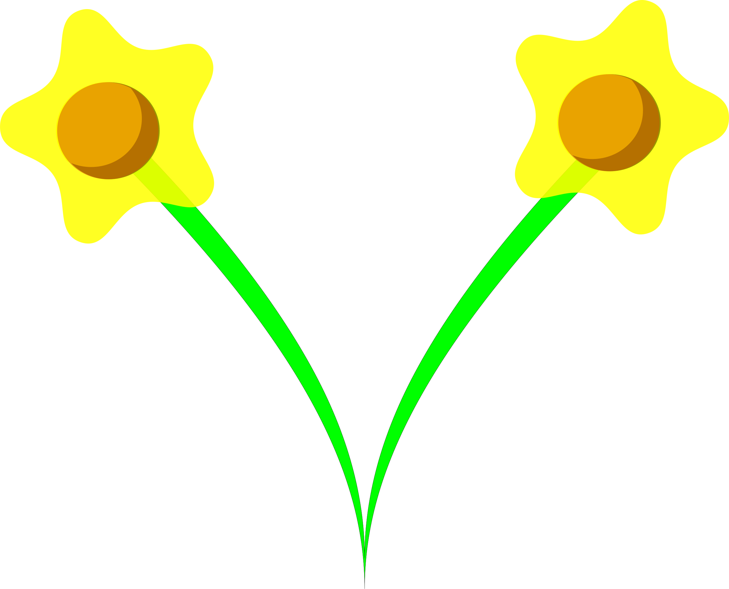 Daffodil flower clipart clip black and white download Clipart - daffodil clip black and white download
