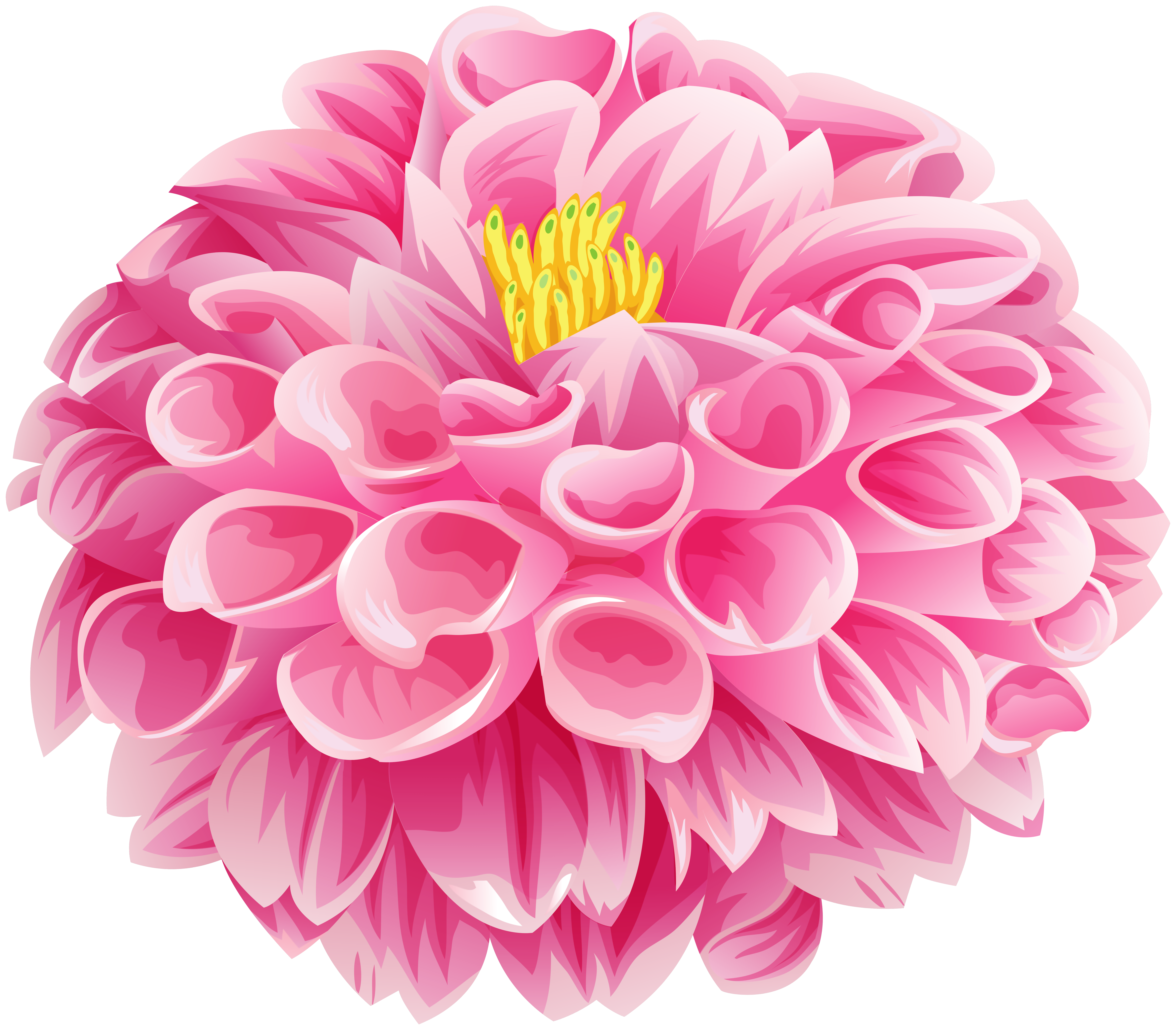 Dahlia clipart free graphic free Pink Dahlia Flower Clip Art Image | Gallery Yopriceville - High ... graphic free