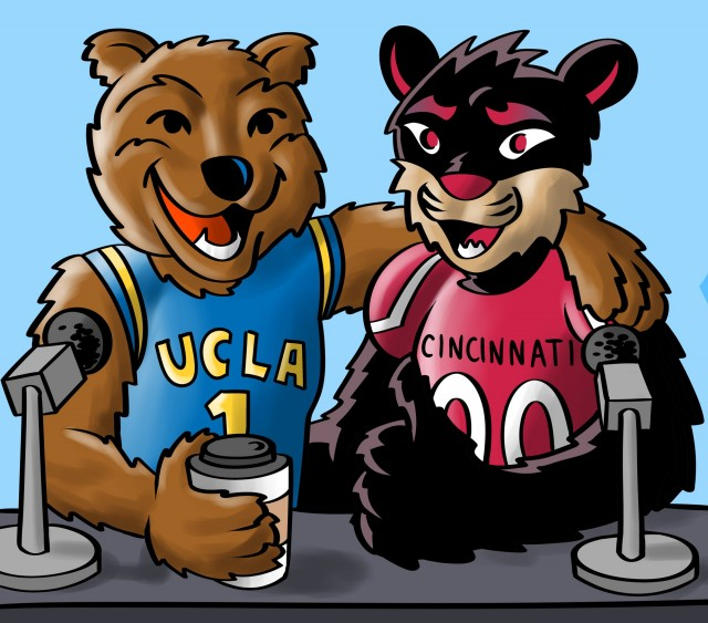 Daily bruin clipart png black and white download Q&A: Cincinnati\'s Sports editor discusses performance last year ... png black and white download