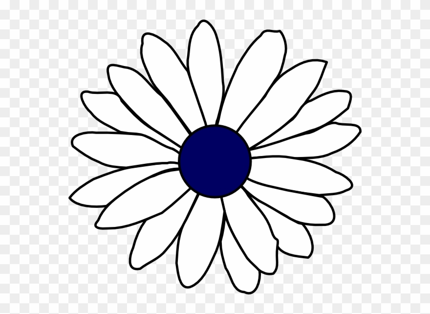 Daisies clipart black and white png library download Daisy S Clipart Art - Daisy Flower Clipart Black And White - Png ... png library download