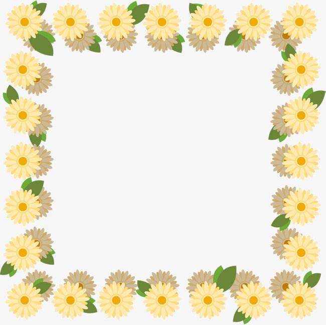 Daisy border clipart banner freeuse Daisy border clipart 6 » Clipart Portal banner freeuse
