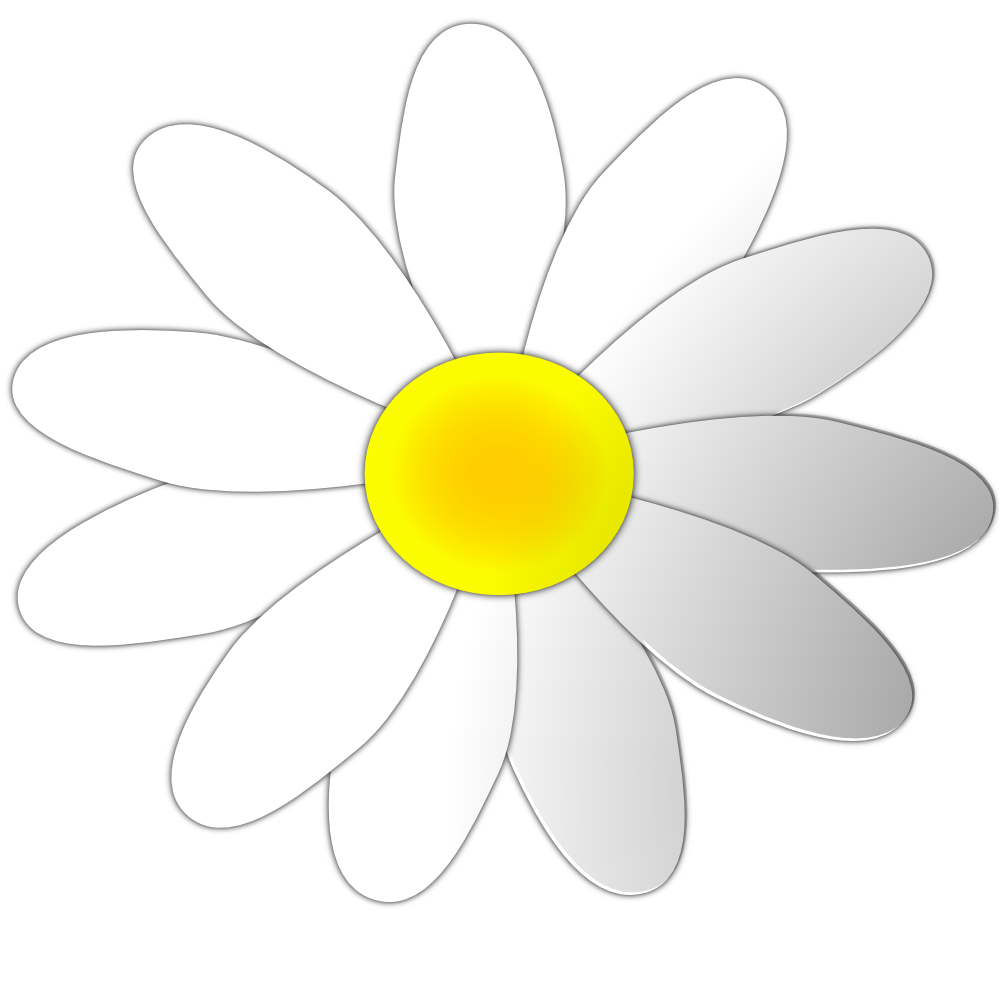 Daisy flower clipart black and white clip art royalty free clipartist.net » Clip Art » daisy flower 8 art SVG clip art royalty free