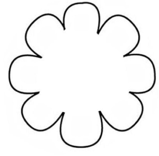 Daisy s clipart art banner free Daisy Template. layout templates. craft daisy gift tag new zealand ... banner free