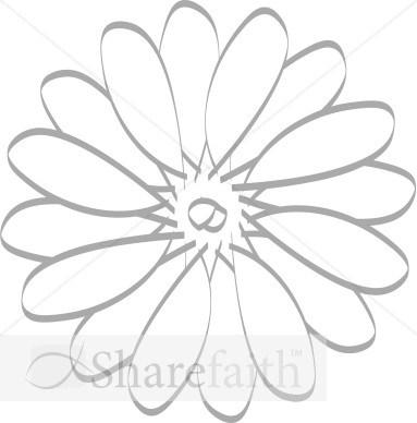 Daisy s clipart art clipart transparent Daisy Template. layout templates. craft daisy gift tag new zealand ... clipart transparent