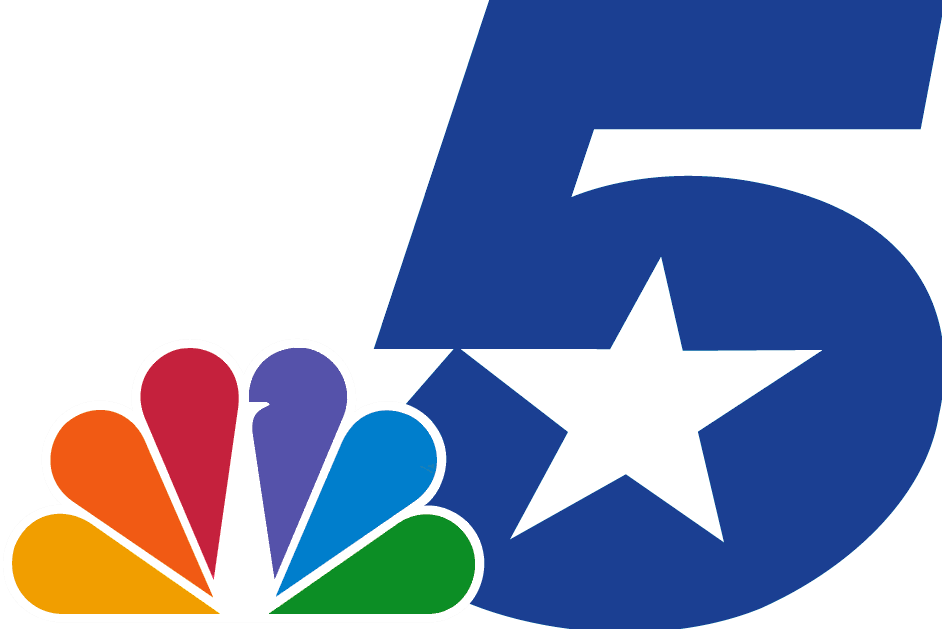 Dallas and fort worth on a clipart map picture royalty free library KXAS-TV - Wikipedia picture royalty free library