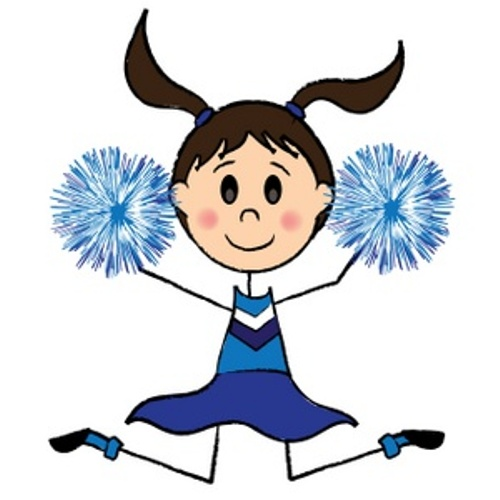 Cheerleader animated clipart vector freeuse download Free Cowboy Cheerleader Cliparts, Download Free Clip Art ... vector freeuse download