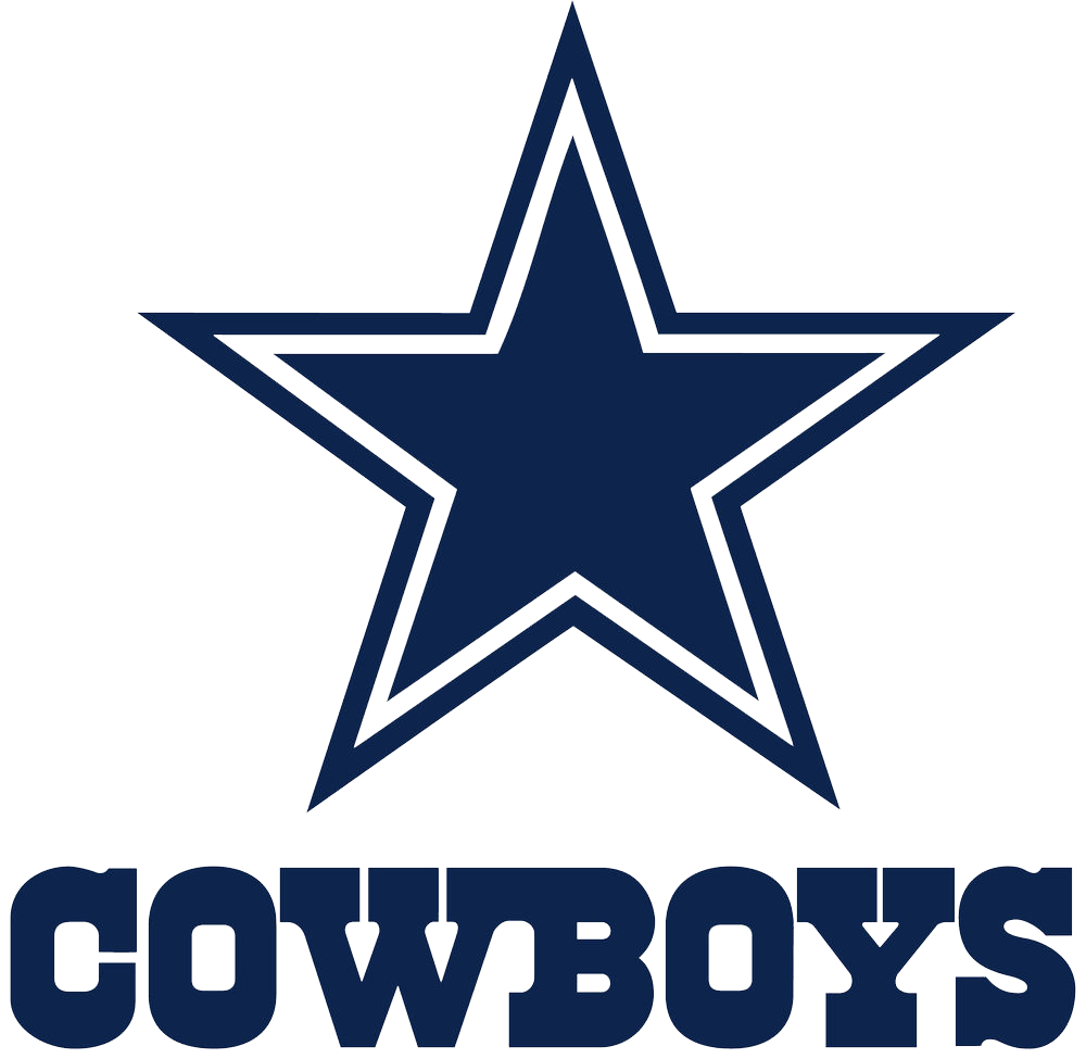 Dallas cowboys football clipart